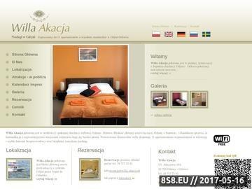 Zrzut strony Pensjonat w Gdyni - willa-akacja.pl