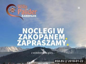 Zrzut strony Willa Palider