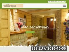 Miniaturka domeny willa-rosa.szczyrk.pl
