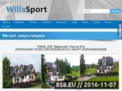 Miniaturka domeny willasport.pl