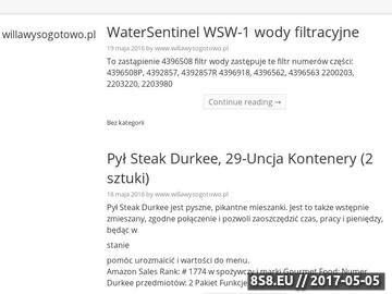 Zrzut strony Noclegi Poznań - willa Wysogotowo