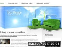 Miniaturka Biokominek Globmetal (www.willis.yannkes.hekko.pl)