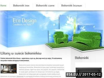 Zrzut strony Biokominki Globmetal