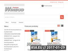 Miniaturka domeny winbudkosztorys.pl