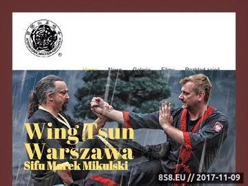Zrzut strony Kung fu Warszawa