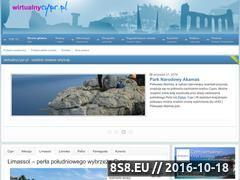 Miniaturka domeny www.wirtualnycypr.pl