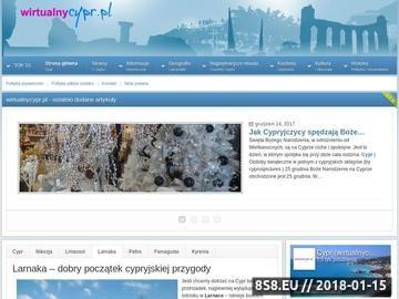 Zrzut strony Cypr