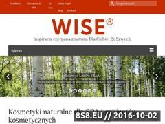 Miniaturka domeny www.wisepolska.pl