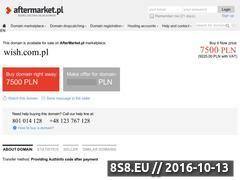 Miniaturka domeny www.wish.com.pl