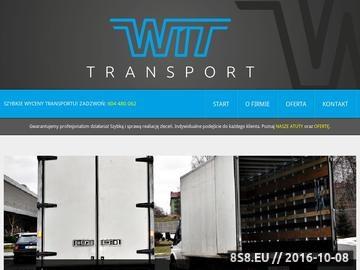 Zrzut strony WIT przeprowadzki dla firm