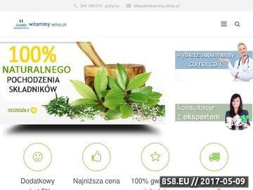 Zrzut strony Nopalin, Nopalin CaliVita, Naturalne suplementy