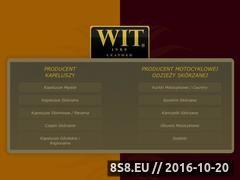 Miniaturka domeny www.witleather.pl