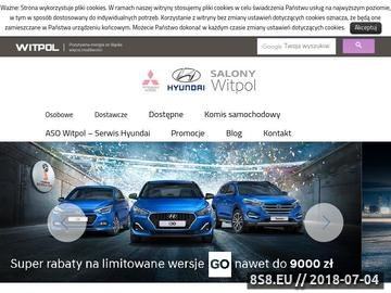 Zrzut strony Hyundai Jaworzno
