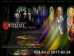 Miniaturka domeny www.witraze-wuttke.pl