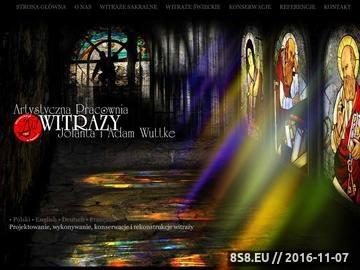 Zrzut strony Wuttke - witraże