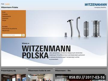 Zrzut strony Zawieszenia rurociągów - Witzenmann Sp. z o.o.