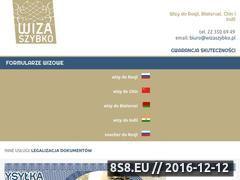 Miniaturka domeny wizaszybko.pl