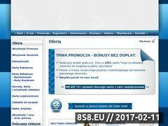 Miniaturka domeny www.wizytowki.galeriafirm.pl