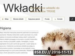 Miniaturka domeny wkladki.net