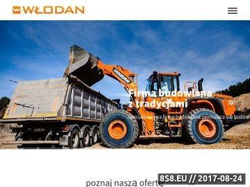 Zrzut strony Włodan Andrzej Włodarczyk SP.J. - transport