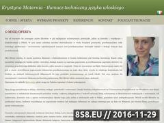 Miniaturka domeny www.wloski-tlumacz.com.pl
