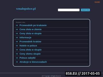 Zrzut strony Publikacja bezpłatnych ogłoszeń w Małopolsce