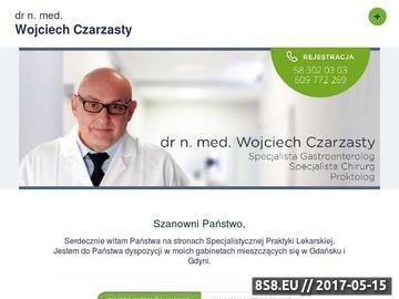 Zrzut strony Wojciech Czarzasty - balon żołądkowy