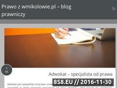 Miniaturka domeny www.wmikolowie.pl