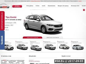 Zrzut strony Wypożyczalnia samochodów Gdańsk