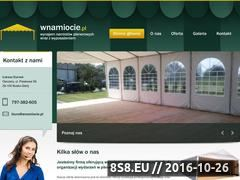 Miniaturka domeny wnamiocie.pl
