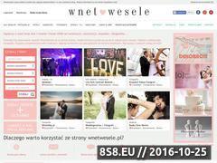 Miniaturka domeny www.wnetwesele.pl
