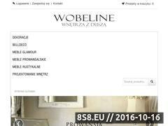 Miniaturka domeny www.wobeline.pl