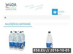 Miniaturka domeny www.woda-alkaliczna.pl