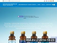 Miniaturka domeny www.woda-lecznicza.pl