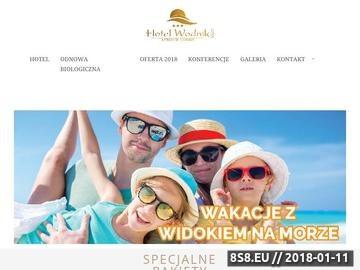 Zrzut strony Wodnik - hotel nad morzem