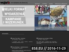 Miniaturka domeny www.wojart.com.pl