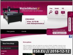 Miniaturka domeny www.wojciechmaziarz.pl