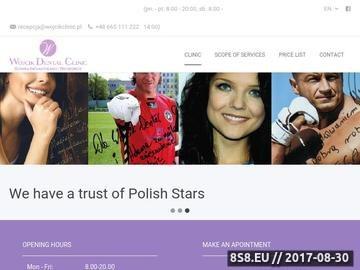 Zrzut strony Ortodonta, stomatolog, implanty, protetyka Warszawa - Wojcik Dental Clinic