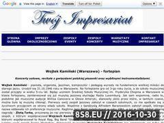Miniaturka domeny wojtekkaminski.twoj-impresariat.pl
