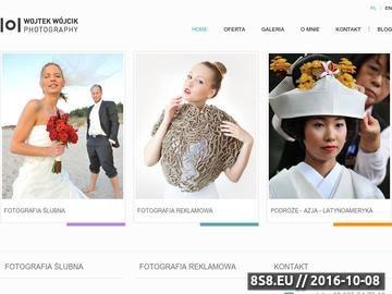 Zrzut strony Fotografia ślubna i reklamowa Poznań, Koszalin