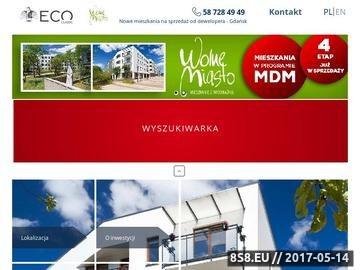 Zrzut strony Wolne Miasto mieszkania w Gdańsku