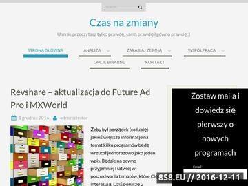 Zrzut strony Metody zarabia online i programy revshare