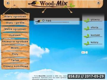Zrzut strony Altany i meble ogrodowe firmy Wood-Mix