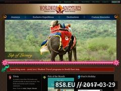 Thumbnail of Custom Travel Itineraries, Natural History Tours Website