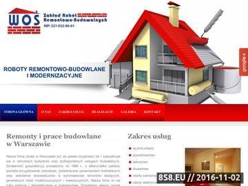 Zrzut strony Zakład robót remontowo-budowlanych