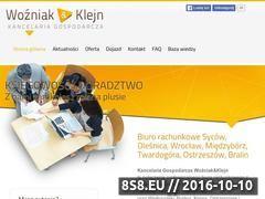 Miniaturka domeny wozniak-klejn.pl