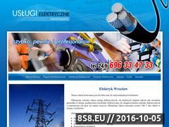 Miniaturka domeny www.wroclaw-elektryk.pl
