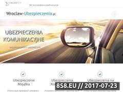 Miniaturka domeny wroclaw-ubezpieczenia.pl