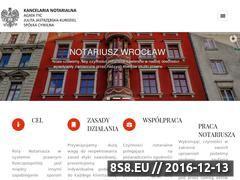 Miniaturka domeny wroclawnotariusze.pl
