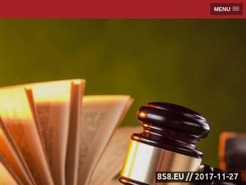 Zrzut strony Wrocławska Kancelaria LEXIS